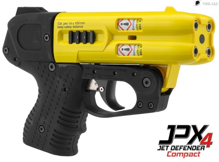 JPX 4 COMPACT YELLOW BARREL