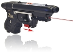 FIRESTORM JPX 2 LE Pepper Gun with Black Frame and laser