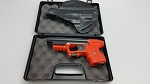 Piexon JPX 2 LE with Orange Frame with laser and Leather Pan Holster