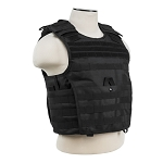 NcStar Expert Plate Carrier Vest Black with Level IIIA Soft Panels