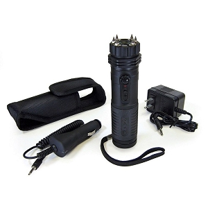 ZAP VOLT Flashlight Stun Gun with 1 Million Volts