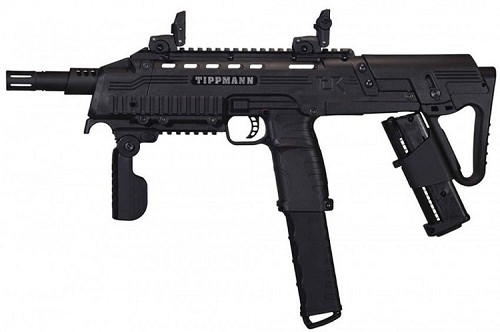 Tippmann TCR Magfed Tactical CQB PAVA Ball Gun Black