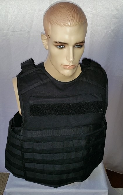 FIRESTORM TACTICAL LEVEL IIIA TACTICAL VEST WITH PLATE POCKETS 2X-LARGE BLACK