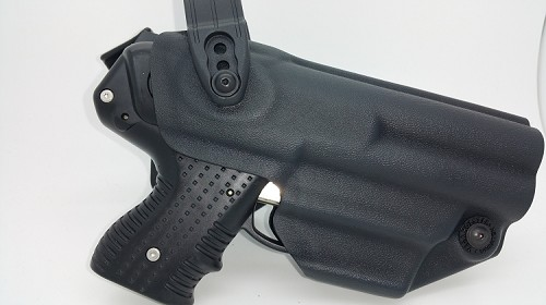 FIRESTORM JPX 4 Defender Level II LE Holster in Kydex with adjustable belt loop RIGHT HAND