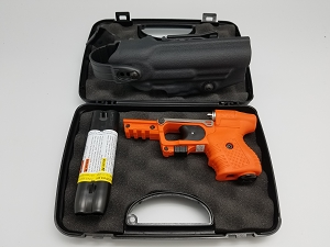 FIRESTORM JPX 2 LE Pepper Gun Orange Laser and Level II Vega Holster