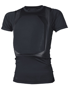 Men's Black TRU-DRI Concealed Armor T-Shirt - Size Large