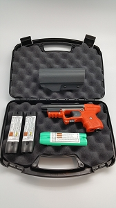 Piexon JPX Orange with Integral Laser Defense Bundle with paddle holster