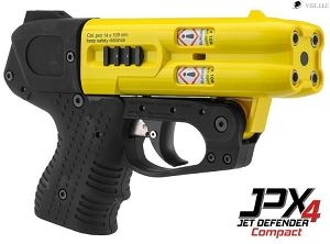 JPX 4 Compact Shot  Pepper Gun Yellow  Barrel