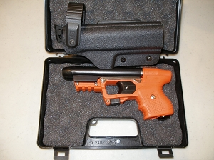 FIRESTORM JPX 2 LE Pepper Gun Orange Laser and Level II Holster
