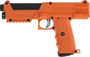MISSION TPR ORANGE PEPPER BALL GUN  KIT WITH C02 and BALLS