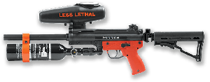 MISSION LESS LETHAL MLR LAUNCHER SEMI AUTO WITH STOCK