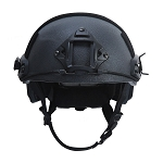 FIRESTORM BALLISTIC LEVEL IIIA FAST HELMET BLACK  MEDIUM