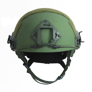 Ballistic Level IIIA FAST HELMET OD GREEN MEDIUM