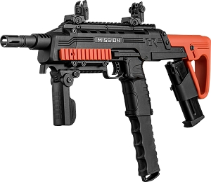 MISSION TCR Magfed Tactical CQB PAVA Ball Gun ORANGE Black