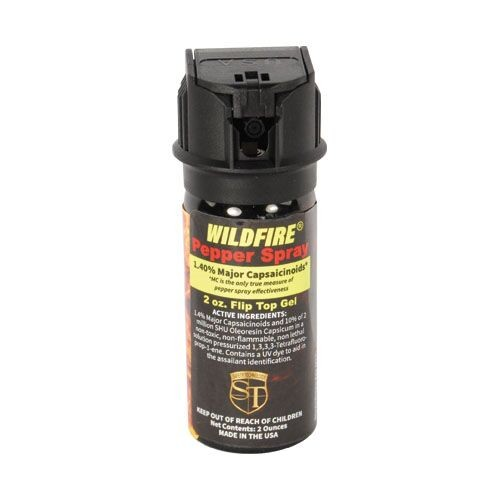 WildFire 1.4% OC 2 oz Pepper Gel Sticky Pepper Spray 2022