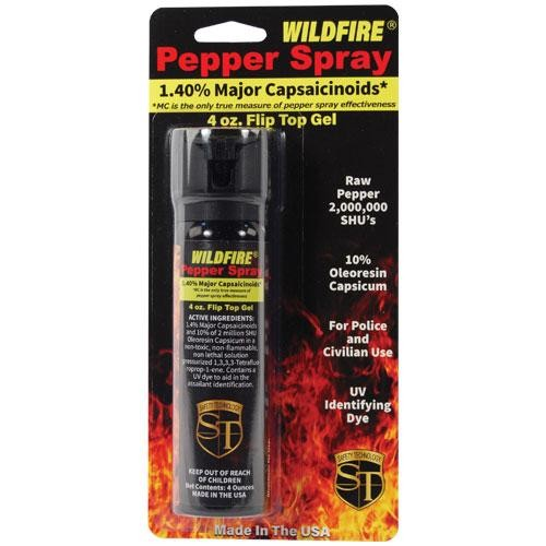 Wildfire 18% 4 oz Police Pepper Spray Gel